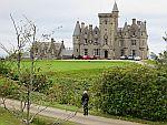 Glengorm castle on Mull, Scotland