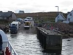The ferry terminal at Fionnphort, Scotland