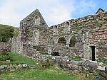 St Ronan's chapel, Iona, Scotland