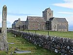 The abbey on Iona, Scotland