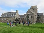 At the abbey on Iona