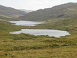 Lakes along the A849, Scotland