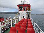 The ferry from Fishnish to Lochaline, Scotland