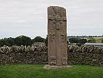 Pictish stone at Aberlemno, Scotland