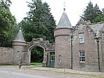 A gate lodge, perhaps at Melgund or Brechin castle
