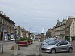 The center of Montrose, Scotland