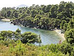 Hidden beaches on Sithonia