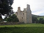 The ruin of Glenbuchat castle, Scotland