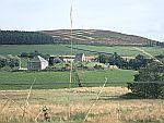 Cemetery at Glenkindie, Scotland
