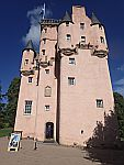 Craigievar castle, a fairytale castle, Scotland