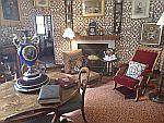 Lounge in Fraser castle, Scotland