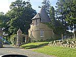 Gatelodge along the A944 at Auchintoul, Scotland