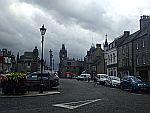 Dark skies above Huntly, Scotland