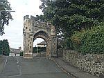 Gate in Burntisland, Scotland