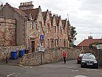 Street in Crail, Scotland