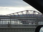 The Forth Road Bridge near Edinburgh