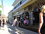 Shopping street in Afytos