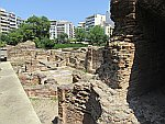 Excavations in the center of Thessaloniki
