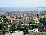 View from the Heptapyrgion fortress in Thessaloniki