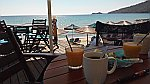Breakfast by the sea, Thasos
