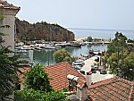 The port of Limenaria, Thassos