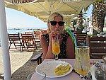 Dining at Skala Kallirachis, Thassos, Greece