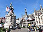 The popular heroes Jan Breydel and Pieter de Coninck in Bruges, Scotland