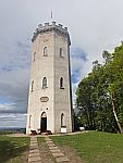 The Nelson Tower in Forres