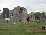Ruin of the Kinloss abbey
