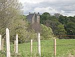 Small castle along the B9117 north of Huntly