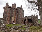 Balvaird castle near Newton or Balcanquhal, Scotland
