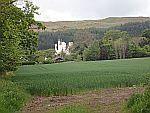 Balmanno castle at Bridge of Earn, Scotland