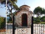 Chapel in Nea Kallikrateia, Greece