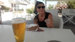 Cold ice and cold beer, Greece