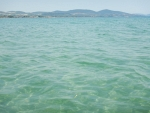 The sea at Kalives, Greece