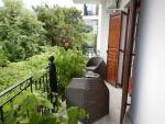 Our balcony, Paradeisos Rooms, Greece