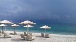The beach at Agios Ioannis, Greece