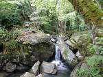 A waterfall at Kissos, Greece