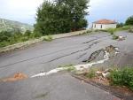 Earthquake damage, Mouresi, Greece