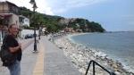The boulevard of Agios Ioannis, Greece