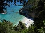 Beach at Mylopotamos, Greece