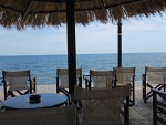 Terrace in Agios Ioannis, Greece