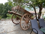 Old cart in Zagoras