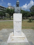 Monument for a Greek patriot, Theodore Kolokotronis