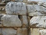 Old city wall near Amaliapolis, Greece