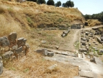 The amphitheater in Sparta, Greece