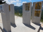 Monument for victims from the civil war, Greece