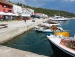 Harbor quay in Katakolo, Greece