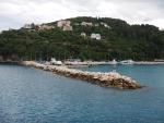 The port of Poros, Kefalonia, Greece
