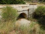 A stone bridge on Kefalonia, Greece
